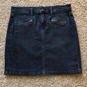 Banana Republic women's jean skirt size 6